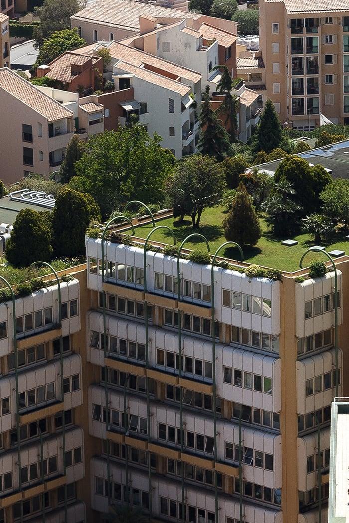 Green Roof Vertical Buildings