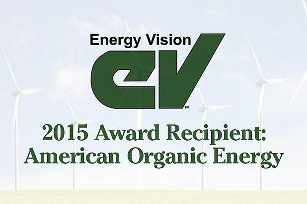 American Organic Energy to Receive Energy Leadership Award