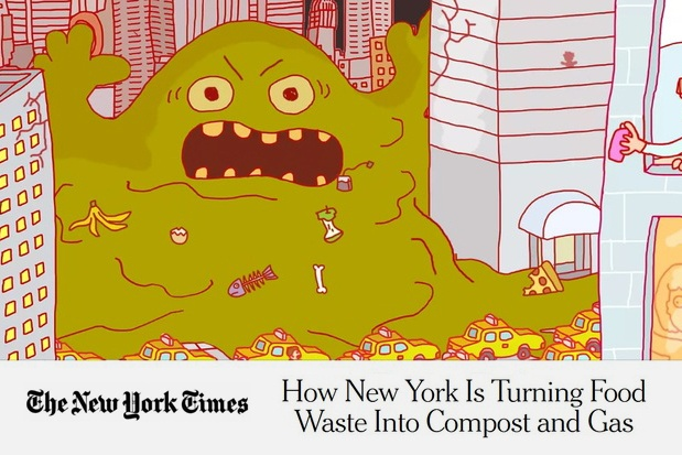 NY Times Highlights NYC's Ever-Growing Organic Waste Program