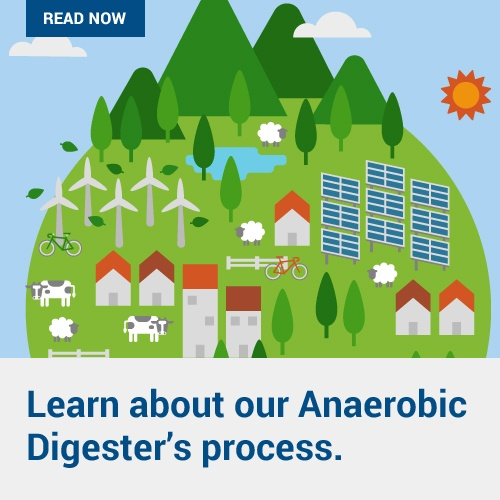 Learn About Our Anaerobic Digester's Process