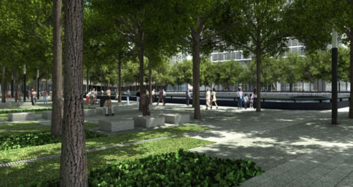 The Memorial Plaza