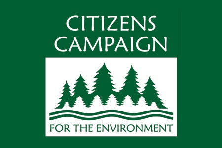 Citizens Campaign Logo on Green background