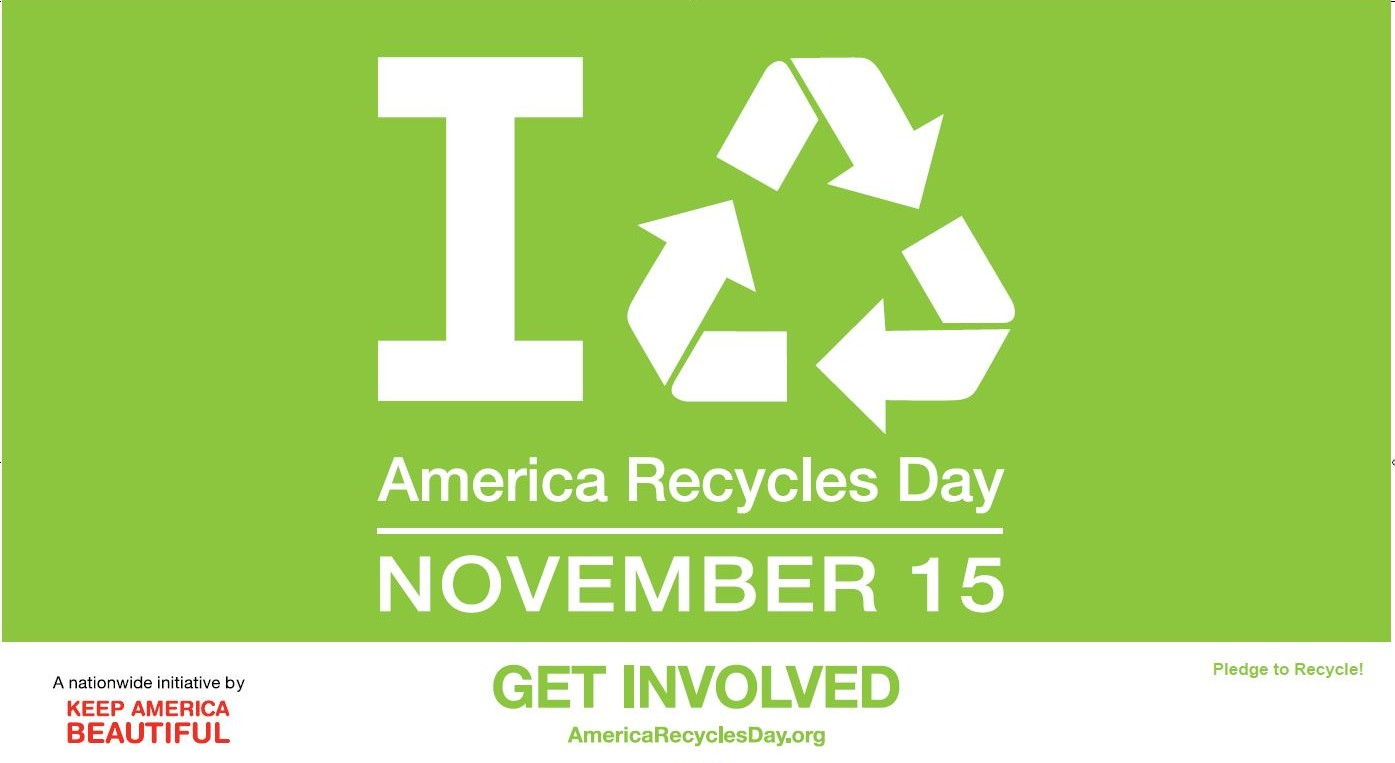 'America Recycles Day' Celebrates Eco-friendly Economic Impacts of 'Reduce, Reuse & Recycle'